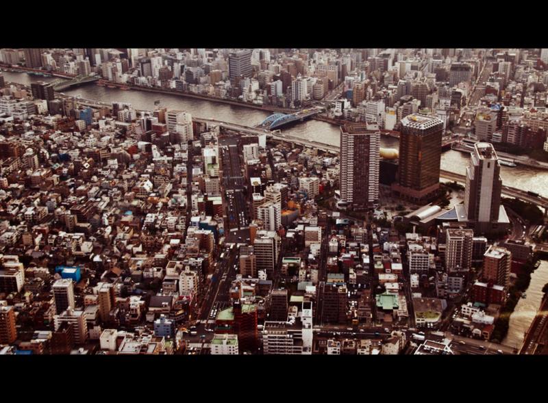 vistas de Tokio desde la torre Skytree1