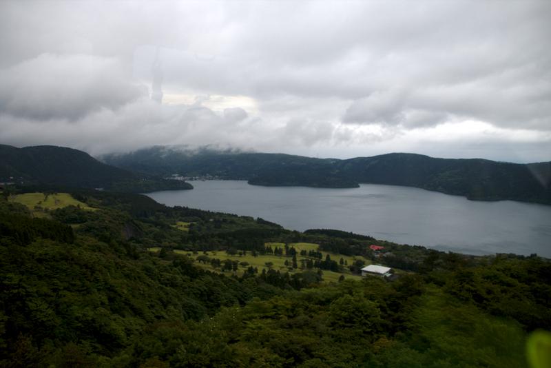 vistas desde el teleférico de Hakone1