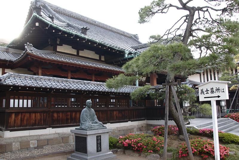 Templo Sengakuji o tumba de los 47 ronin en Tokio