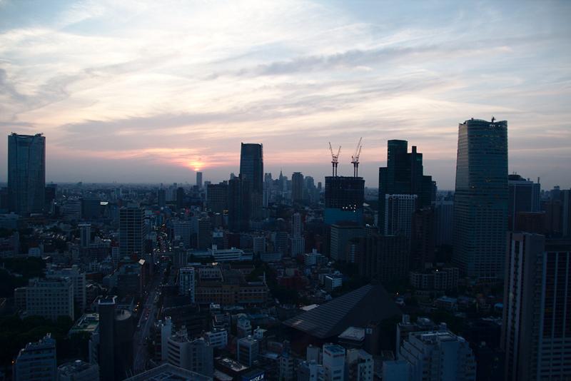 vistas de Tokio desde la Tokyo Tower2