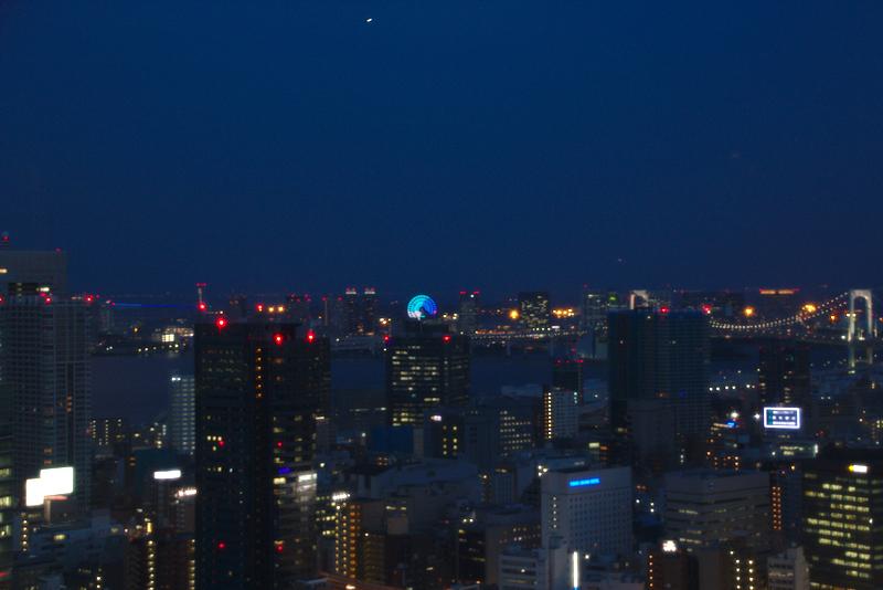 vistas nocturnas de Tokio desde la Tokyo Tower3