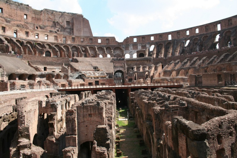 Coliseo interior 1