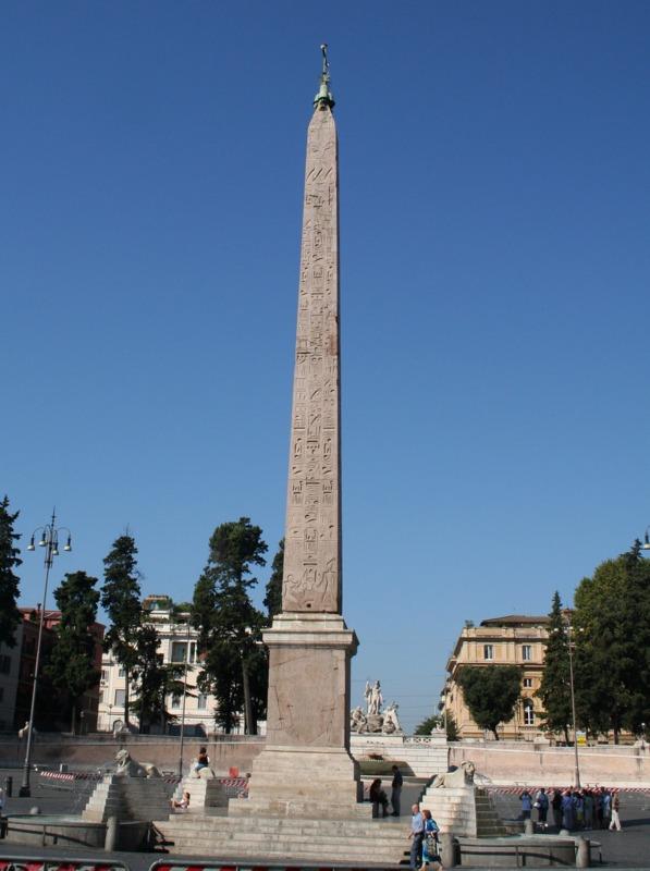 Piazza del Popolo - obelisco