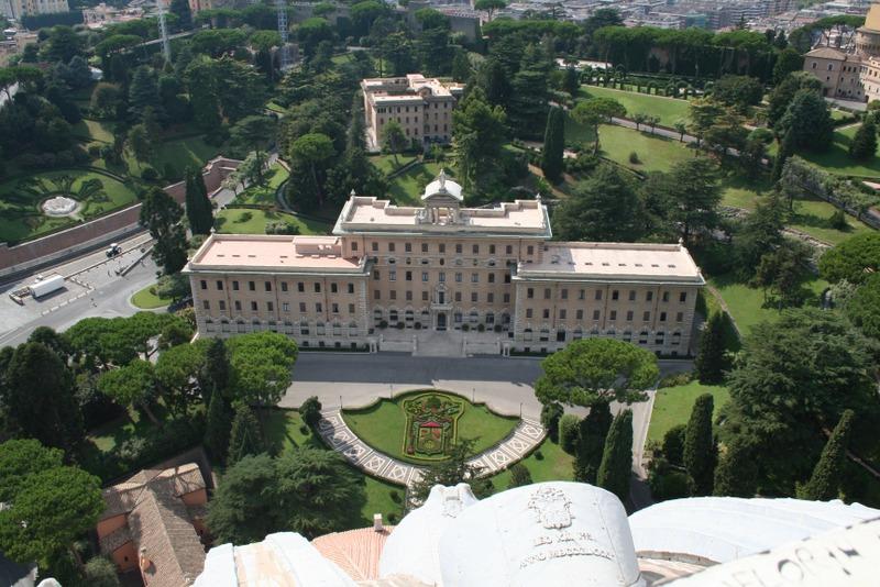 Vaticano - vistas desde la cúpula 1