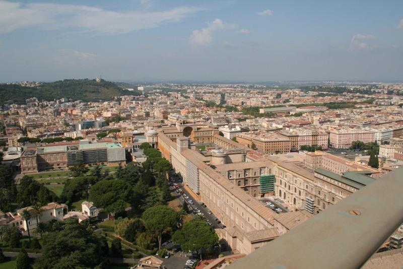 Vaticano - vistas desde la cúpula 2