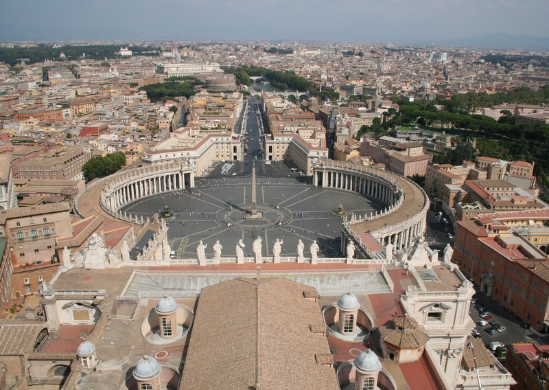Vaticano - vistas desde la cúpula 3