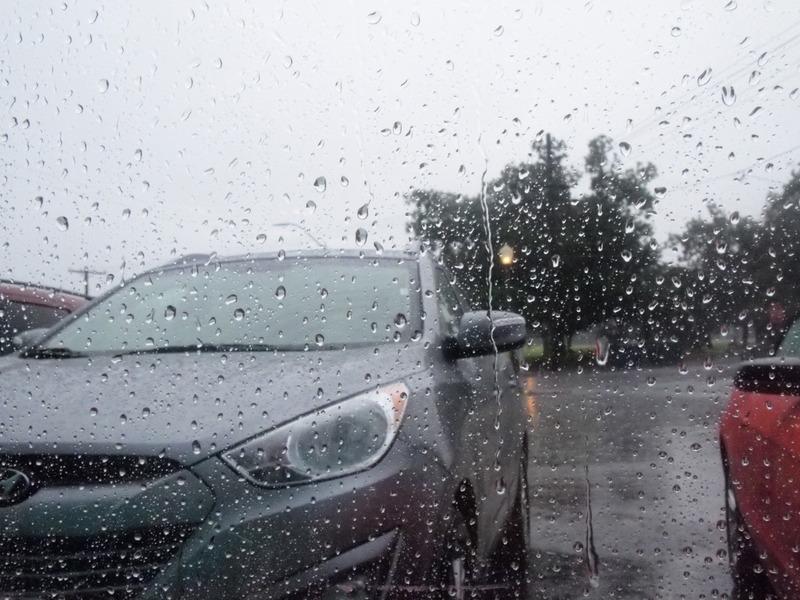 lloviendo en Kingman Arizona