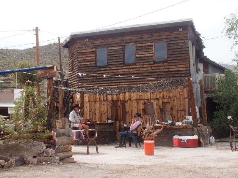 vaqueros en Oatman Arizona
