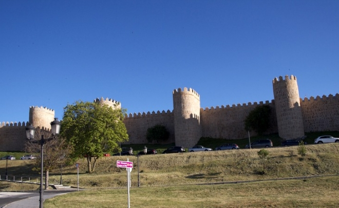 00 foto entrada - muralla de Ávila