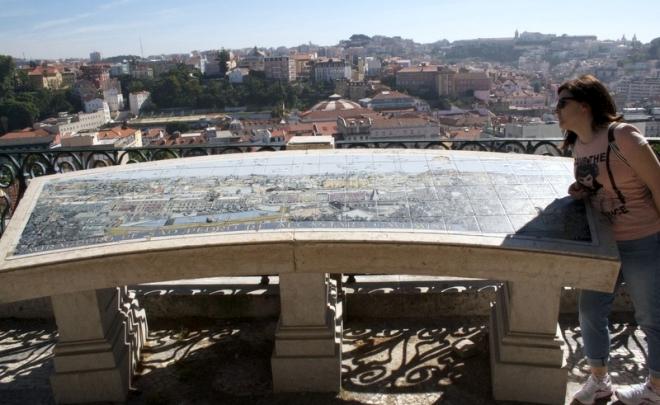 00 foto entrada - Mirador de San Pedro en el Bairro Alto de Lisboa