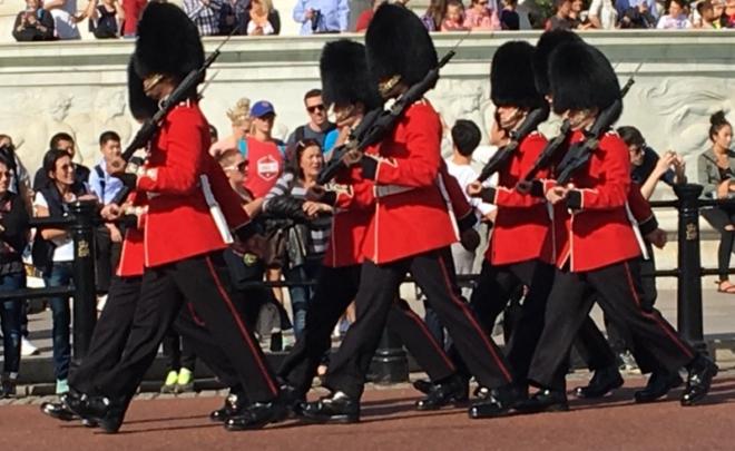 cambio de  Guardia en Buckingham Londres 1