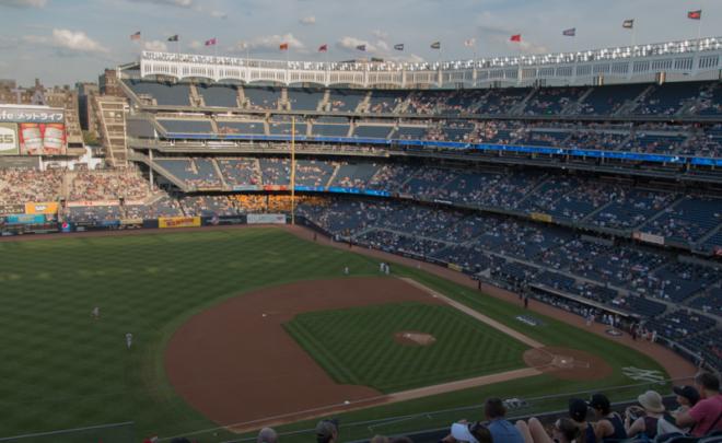 campo de baseball de los Yankees en Nueva York