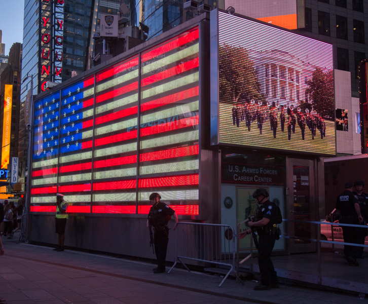 Times Square al atardecer 2