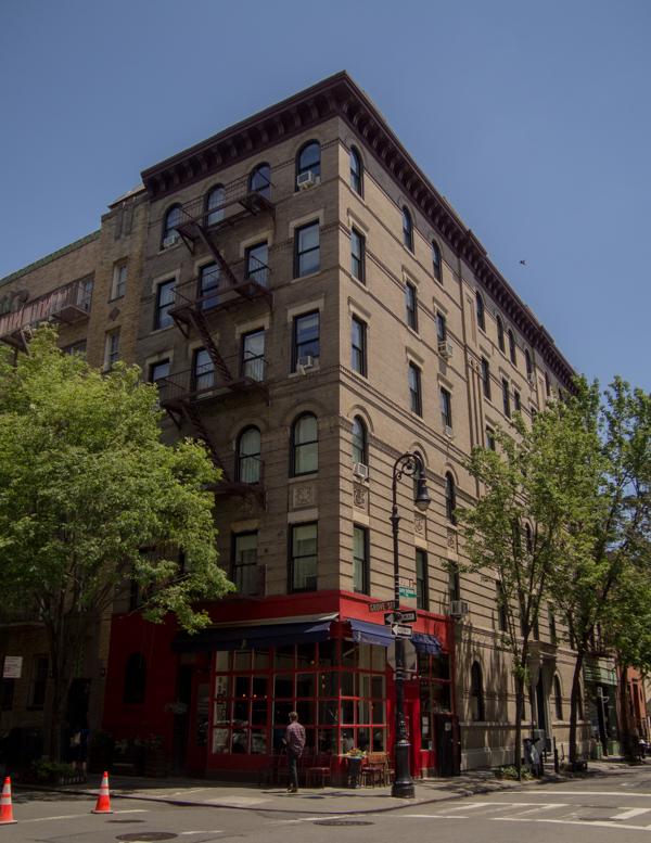"""edificio de """"Friends"""" en Nueva York"""