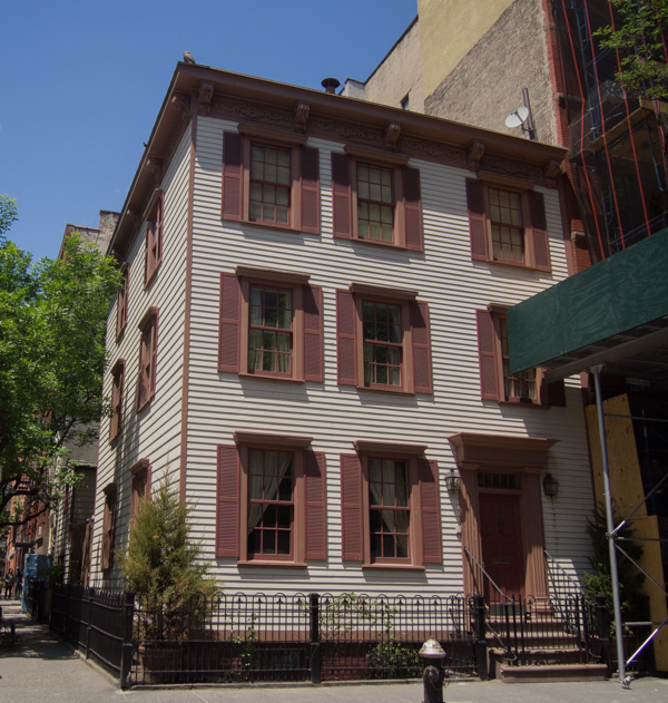 edificio de Mattel en Nueva York
