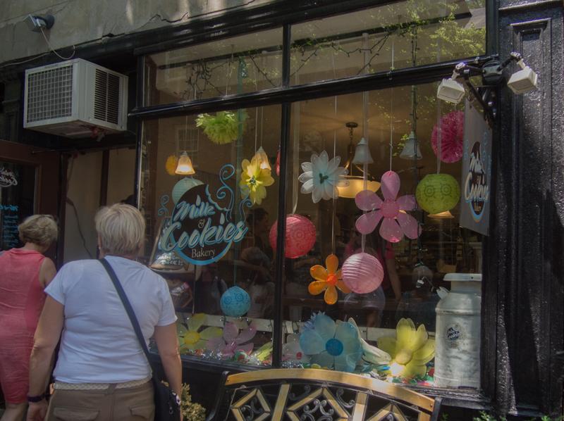 fachada de Milk & Cookies Bakery en Nueva York