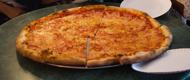 pizza del Joe's Pizza de Nueva York