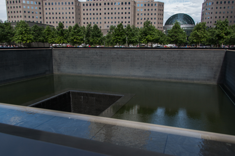 piscina norte del 11S Memorial en Nueva York