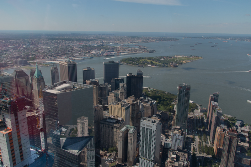 vistas de Manhattan desde el One World Observatory de Nueva York2