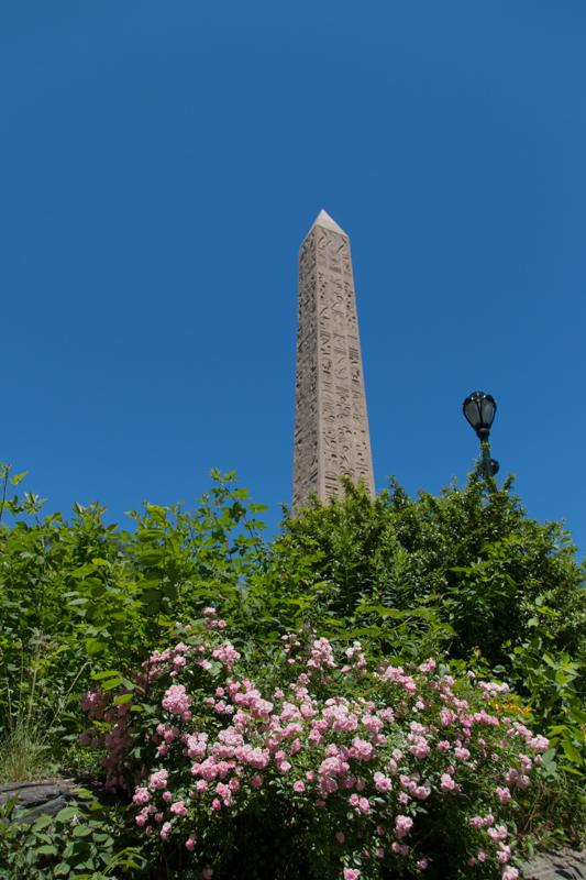 Obelisco del Central Park en Nueva York