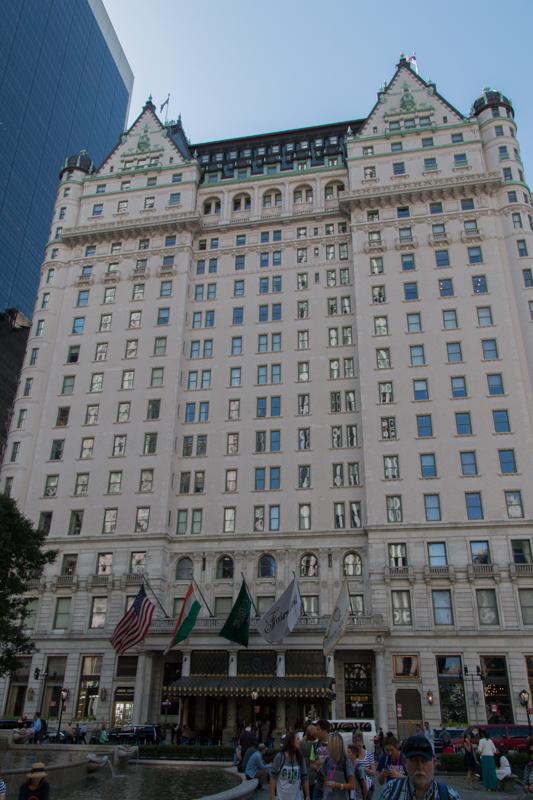 Hotel Plaza en Nueva York