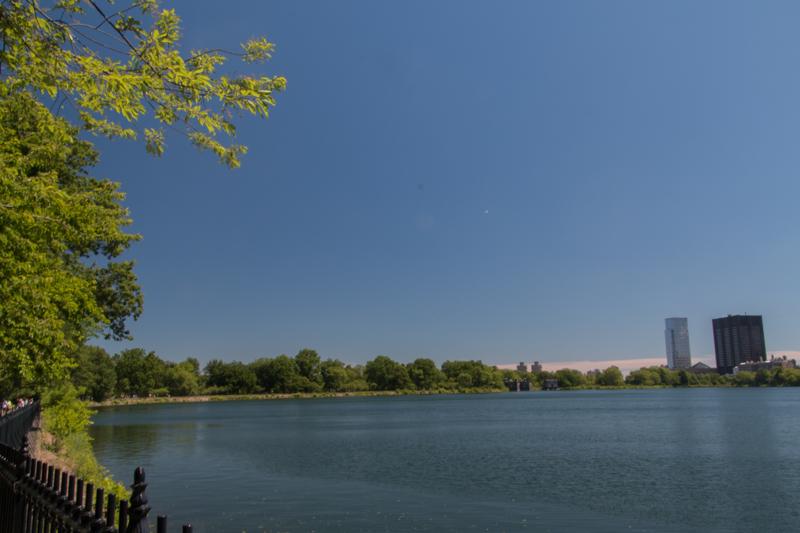 lago Jacqueline Kennedy Reservoir en Central Park de Nueva York 2