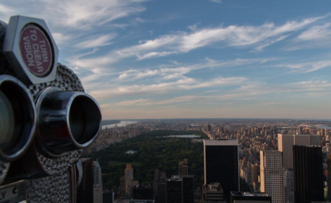 vistas del Central Park desde el Top of the Rock de Nueva York 2