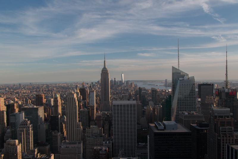 vistas del Empire State desde el TOR de Nueva York