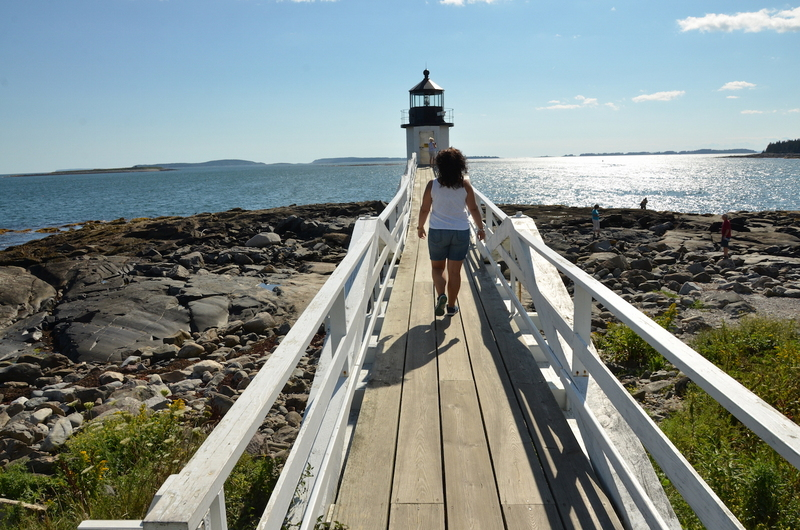 Marshal Point Lighthouse en Maine