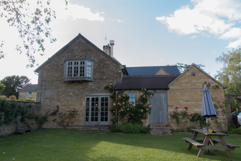 backyard del Ebrington Arms en Chipping Campden