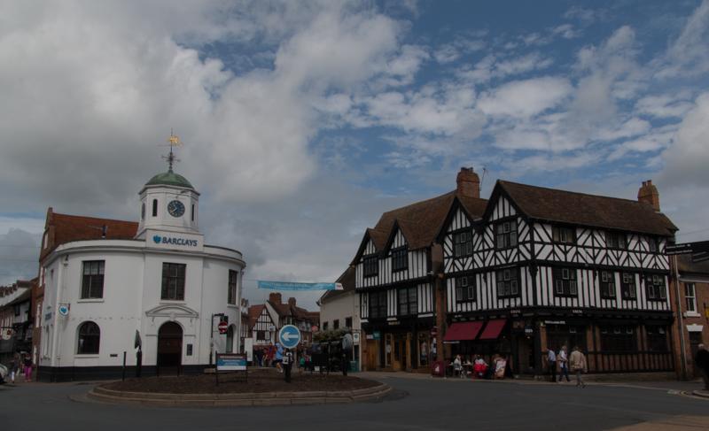Old Market Hall y casas típicas de Stratford-upon-Avon
