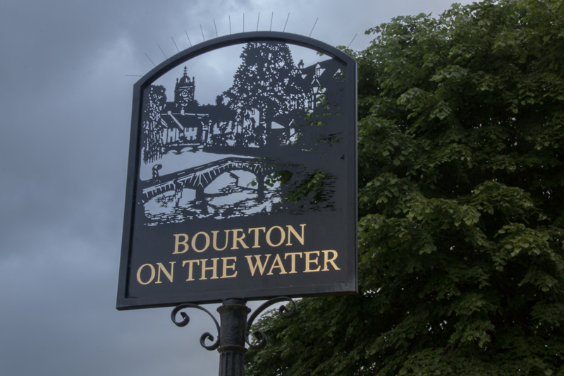 cartel de Bourton-on-the-Water