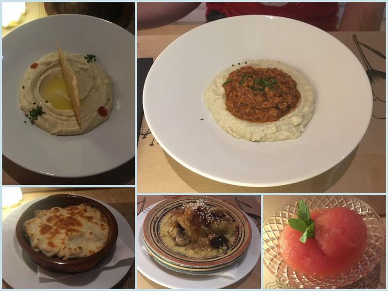 comida del restaurante Salam en Salamanca
