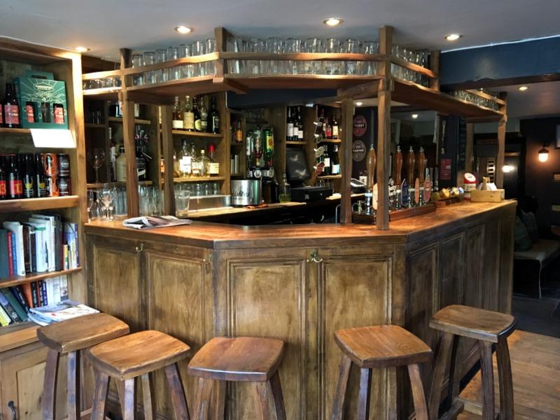 zona del pub del Ebrington Arms en Chipping Campden 2