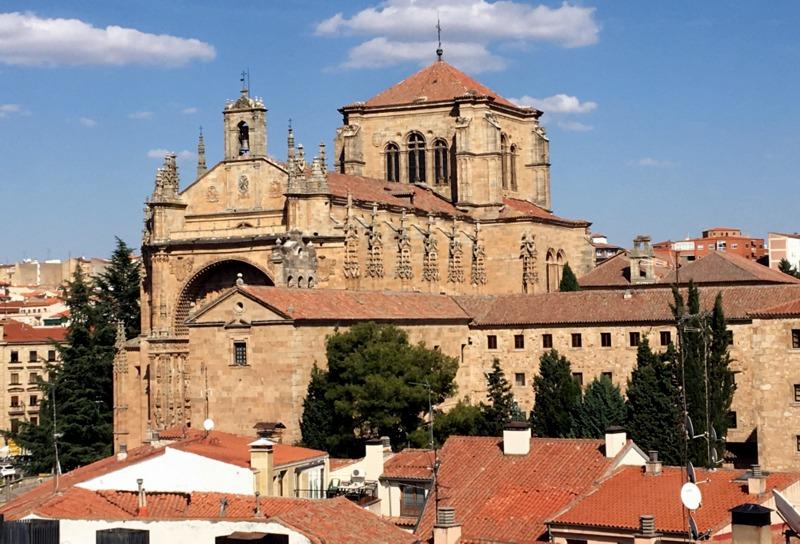 vistas desde la Torre del Marqués de Villena en Salamanca 1