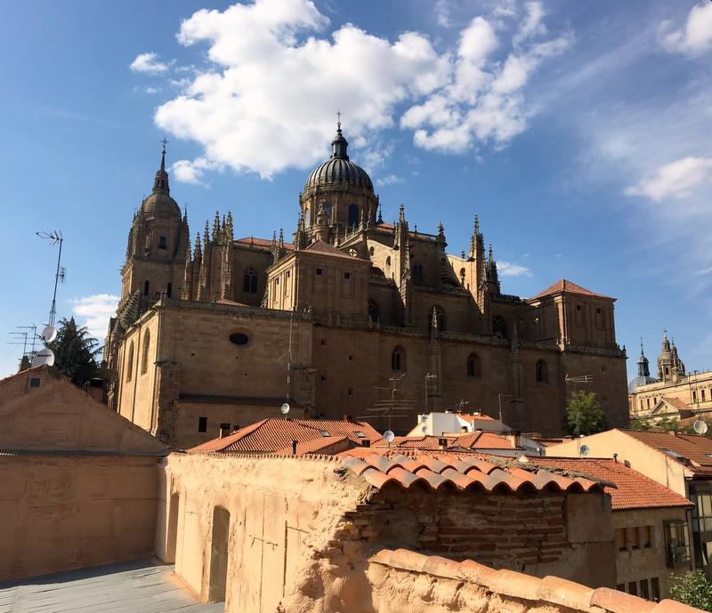 vista desde la Torre del Marqués de Villena en Salamanca 2