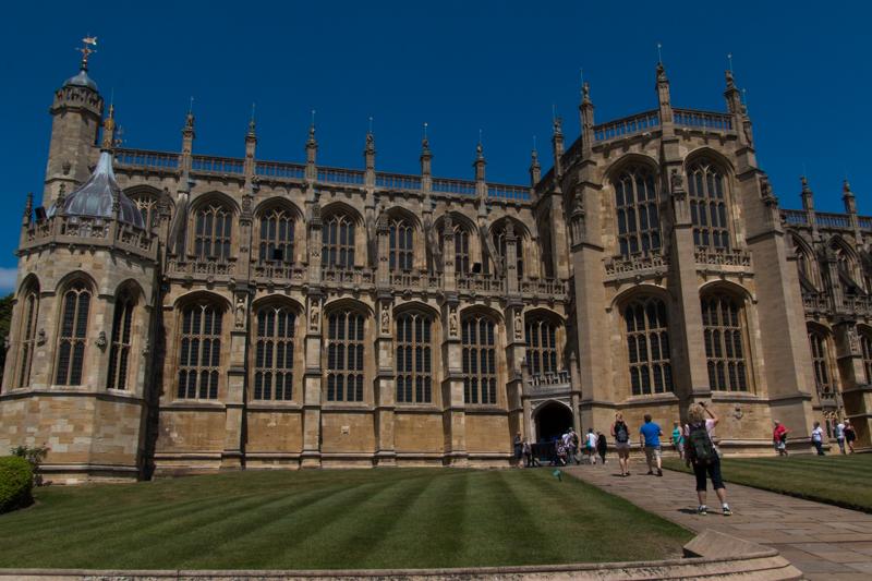 Capilla de San Jorge en el Castillo de Windsor