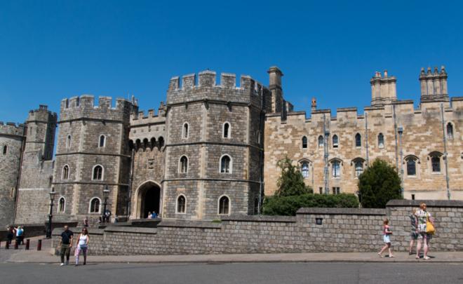exterior del Castillo de Windsor 1