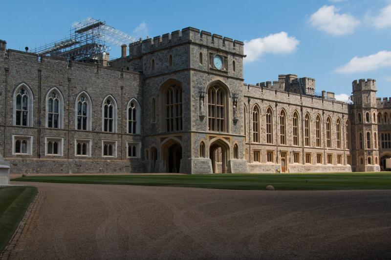 zona privada del Castillo de Windsor 1