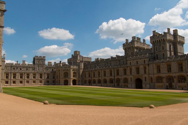 zona privada del Castillo de Windsor 2