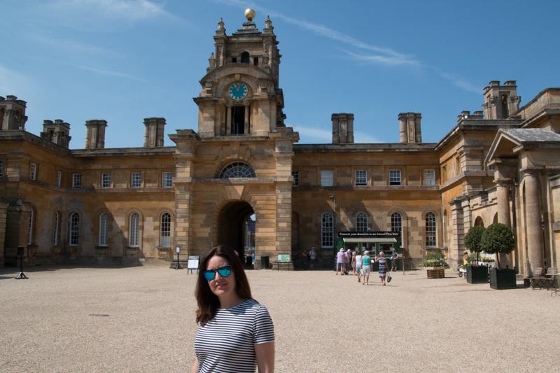 Lidia en Blenheim Palace