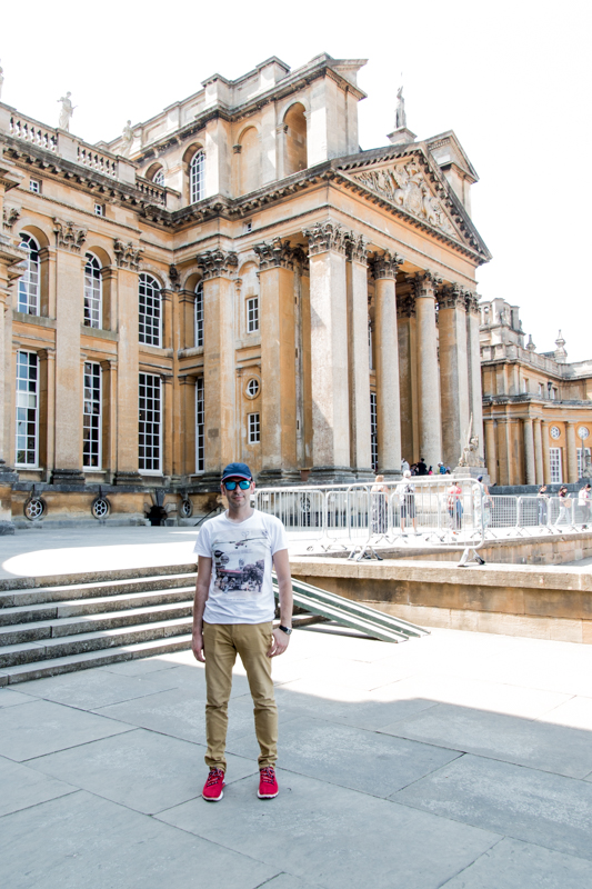 Sergio en Blenheim Palace