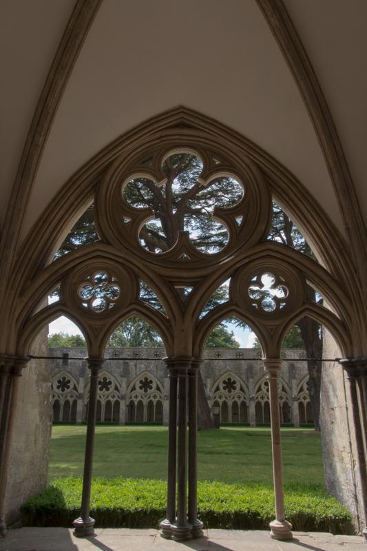 claustro de la Catedral de Salisbury 1