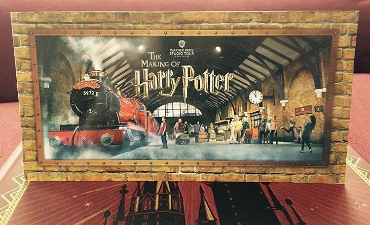 entradas de Harry Potter