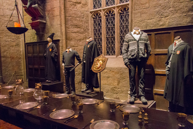 Gryffindor en el Gran Comedor HP