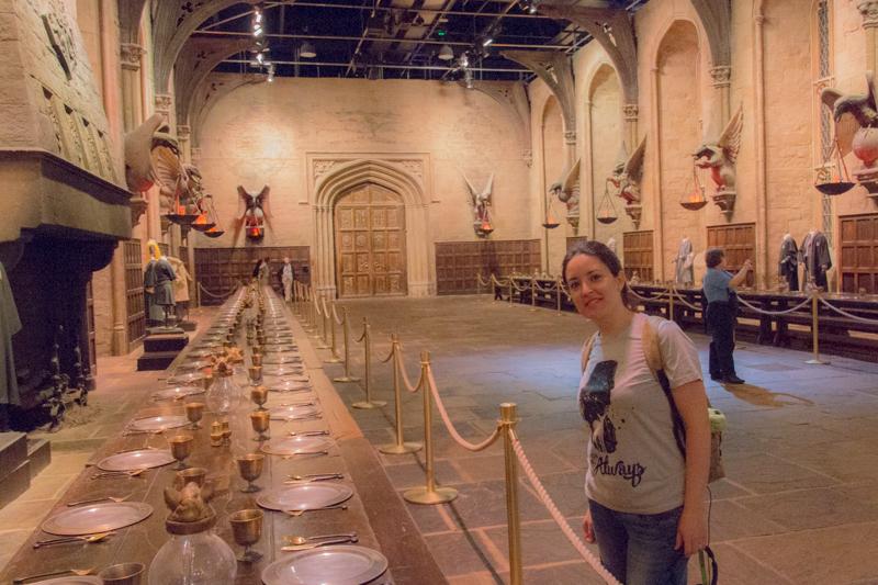 Lidia en el Gran Comedor HP