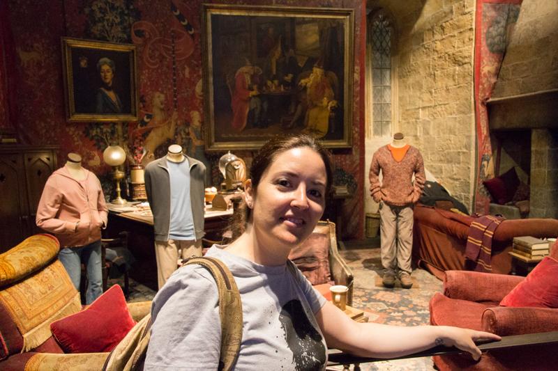 Lidia en la Sala Común de Gryffindor