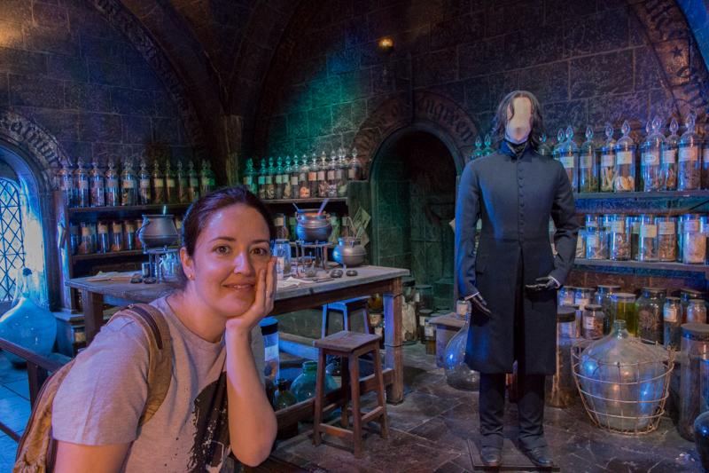 Lidia en la Clase de Pociones de Snape HP