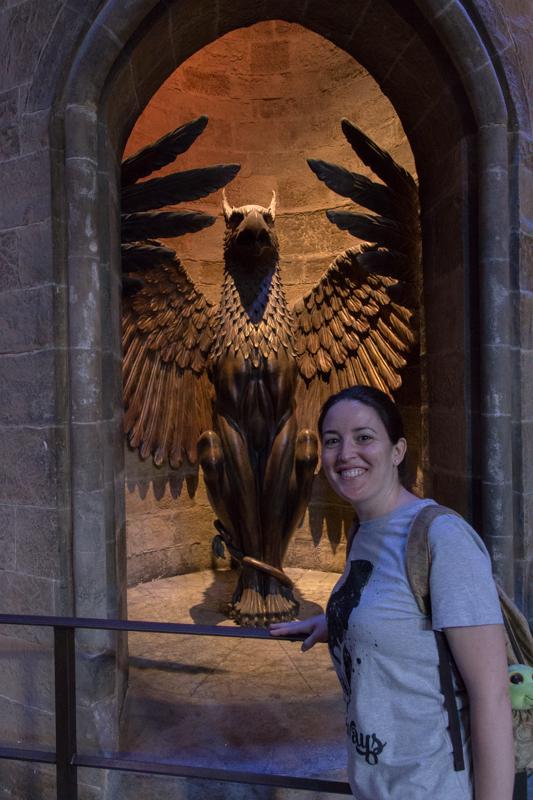 entrada al Despacho de Dumbledore HP