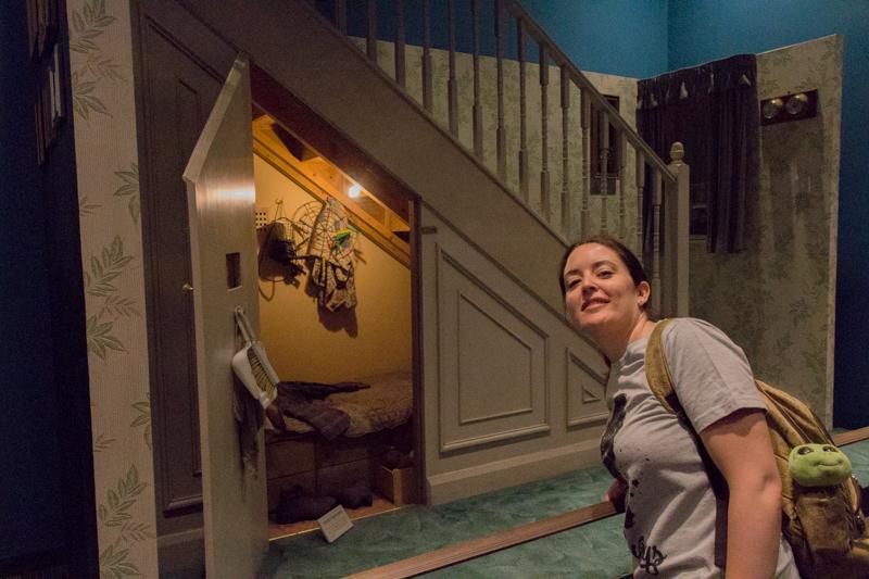 Lidia en los Studios Warner de HP 1